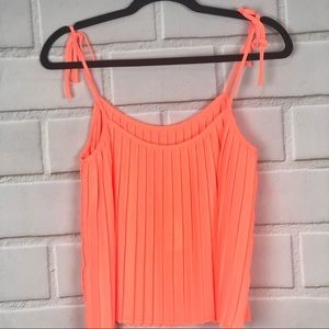 GIANNI BINI pleated top size XS